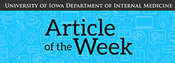Article of the Week banner