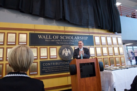 Wall of Scholarship Event