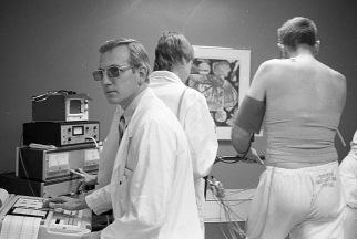 D Brown Treadmill 1982